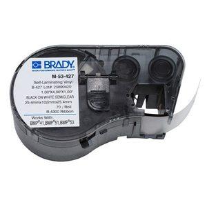 Brady M-53-427 Self Laminating Vinyl Labels