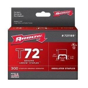 Arrow 721189 T72 Insulated Staple