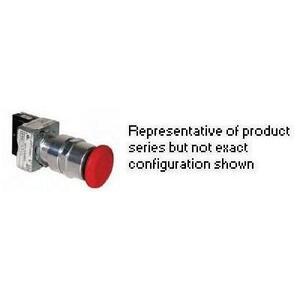 Hubbell-Killark GOML1R3 RED MAINT EXTN PSH-PULL