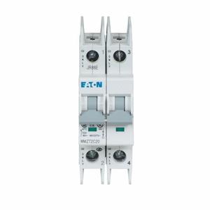 Eaton WMZT2C25 UL 489 WMZT DIN Rail Miniature Circuit Breaker