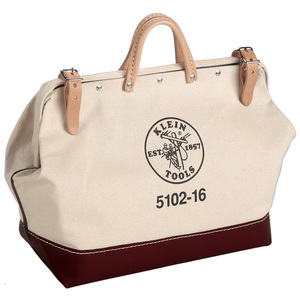 "Klein 5102-24 24"" (610 mm) Canvas Tool Bag"