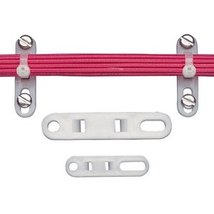 Panduit TP4H-C Cable Tie Plate, 1/4 Screw, M-H Ties