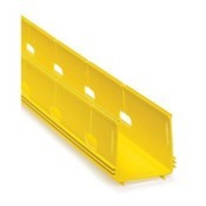 S4DCT-DSL YL DUCT SLOTTED 4X4 WO/CVR