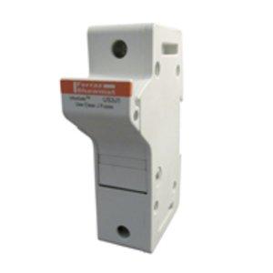 Mersen US3J1I Fuse Holder, 30A, 600V AC/DC, Class J, 1P, Ultrasafe, Indicators