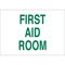 22672 FIRST AID SIGN