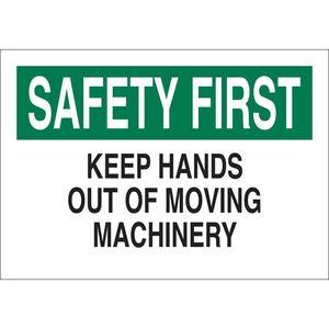 23074 MACHINE & OPERATIONAL SIGN