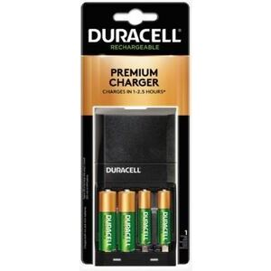 Duracell ION-SPEED-4000 NiMH Battery Charger, 2xAA NiMH Batteries (included)