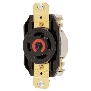 Hubbell-Kellems HBL2730 Locking Receptacle, 30A, 3PH 480V, L16-30R, 3P4W