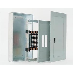 GE AQU3424RCXAXT1B4 Panel Board, Interior, 400A, 42 Circuit, 208Y/120VAC, 3PH, CU Bus