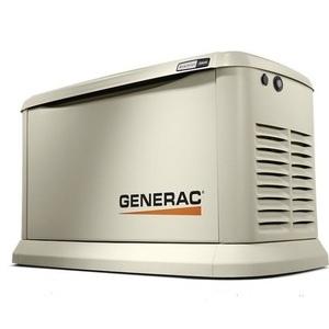 Generac 70432 Generator, Standby, 22kW, 120/240VAC, 200A, 1PH,Transfer Switch