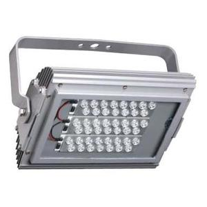 Hubbell-Killark KFL12530 Flood Light, LED, 125W, 120-277V, Gray