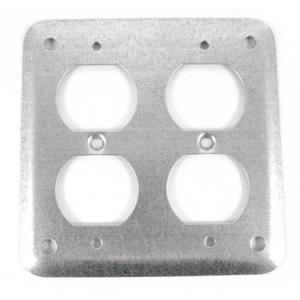 Bowers 472-NEC 1/8D DBLDPLXRCPT CVR