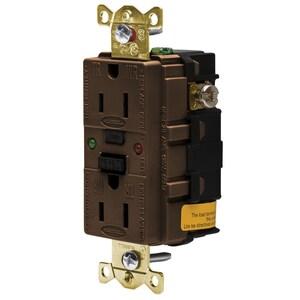 Hubbell-Wiring Kellems GFR5262SG 15A/125V INDL. TAMPER