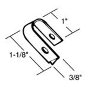 Thomas & Betts NS-100 Cable Clip, Stl