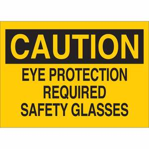 22584 EYE PROTECTION SIGN
