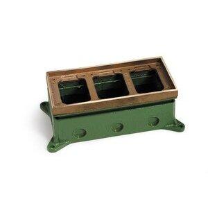 Lew 1103-58 Adjustable Floor Box, Three Gang