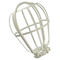 12200-W WH LAMPH GUARD CAGE FOR BULB CLG