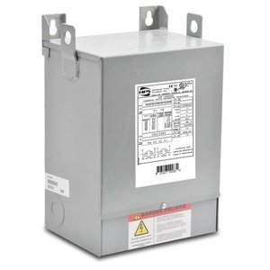 Hammond Power Solutions C1F002XES Transformer, Dry Type, Fortress, 2KVA, Export Primary, 120/24VAC
