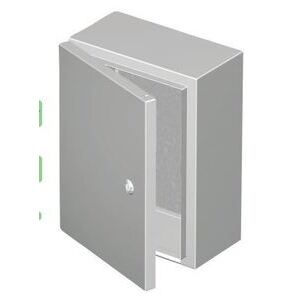 EXM 5412-ES363612NOIP Wall Mount Enclosure, NEMA 4/12, Hinge Cover, 36 x 36 x 12""