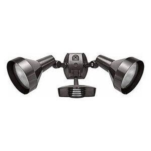 RAB STL200H Halogen Floodlight Fixture, Outdoor Sensor, 1000 Watt, Bronze
