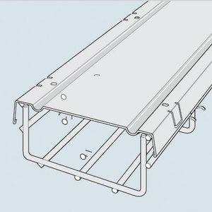 """Cablofil CVN100GC Cable Tray Cover, 4"""" x 3.3'"""