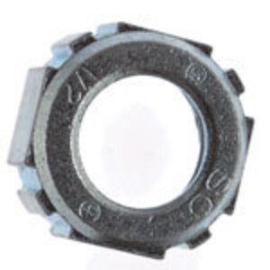 "Thomas & Betts BU-406 Conduit Bushing, Size: 2"", Material: Iron/Zinc"