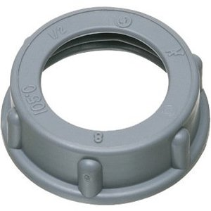 "Arlington 441 Conduit Bushing, Insulating, 3/4"", Threaded, Plastic"