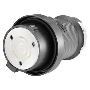 Hubbell-Wiring Kellems HBL2613SR REVERSE SERVICE CONN 30A 125V,  L5-30C