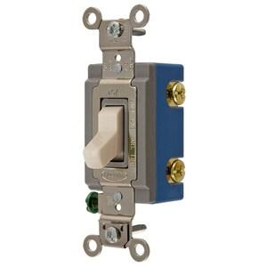 Hubbell-Wiring Kellems CS1201LAU SWITCH, COM, SP, 15A 120/277V, LA, USA