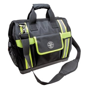 Klein 55598 Tradesman Pro Tool Bag, High Visibility