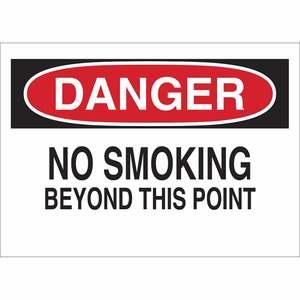 25078 NO SMOKING SIGN
