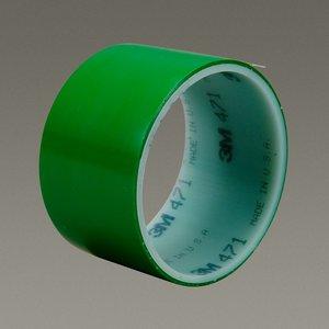 "3M 471-GREEN-2X36YD-BULK 3M 471-Green-2""x36yd-Bulk Plastic F"