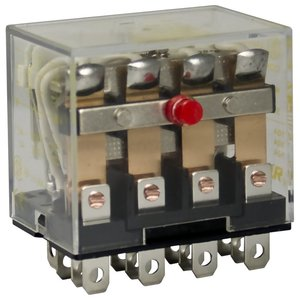 8501RS44P14V20 4 POLE MINIATURE RELAY 12