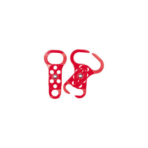 236919 RED LOCKOUT HASP NYLON