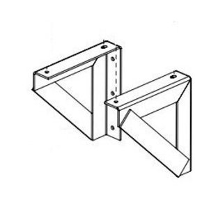 Hammond Power Solutions NQTW1 Wall Mount Brackets, Dry Type Transformer, 45KVA, or 300lbs