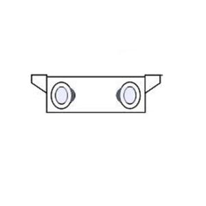 Hubbell - Lighting VX-2 BOX JUNCTION 3 4IN