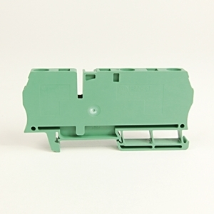 Allen-Bradley 1492-L6T-G Terminal Block, 50A, 600V AC/DC, Green, 22 - 8AWG, 6mm