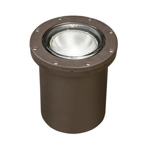 "Kichler 15268AZ In-Ground Well Light, Diameter 7"", Aluminum Bronze"