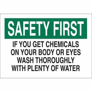 22367 CHEMICAL & HAZD MATERIALS SIGN