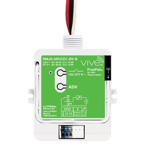 Lutron RMJS-5RCCO1-DV-B Vive PowPak 120/277V, 5A