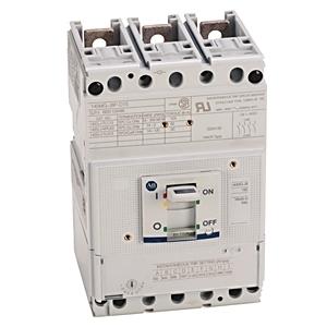 Allen-Bradley 140MG-J8P-D15 Breaker, Molded Case, 150A, J Frame, 480VAC, 65kAIC, Magnetic Only