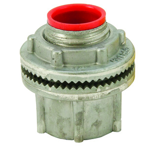 """Cooper Crouse-Hinds STA1 Conduit Hub, Insulated, Size: 1/2"""", Material: Aluminum"""