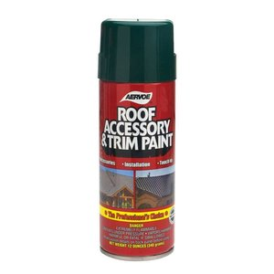 Dottie 1601 Aerosol Roof Accessory & Trim Paint, Cedar, 16 oz