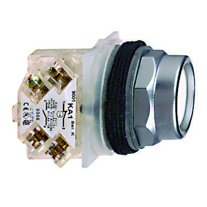 Square D 9001KR2UH13 Push Button, Multicolor, 30mm, Ext. Guard, 1NO/NC, Momentary