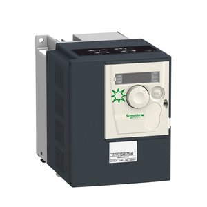 Square D ATV312H075N4 Variable Speed Drive, Altivar 312, 0.75kW, 1HP, With Heat Sink