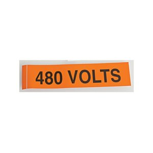 NSI Tork VM-C-13 Voltage Marker Card 480 Volts