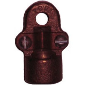 "Greaves G41 Conduit Hub for Ground Clamp, 1/2"" Hub, 2/0 AWG, Bronze"