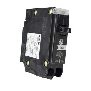 Eaton CLGF115 Breaker, 15A, 1P, 120/240V, 10 kAIC, Classified Ground Fault