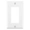 80401CNW 1G 347V DECORA PLATE WHITE