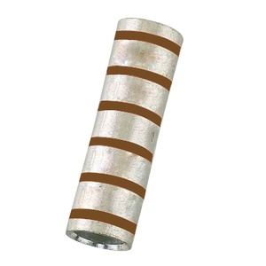 3M 11014 Copper Compression Sleeve, Long Barrel, Wire Size: 500 AWG